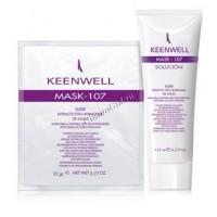 Keenwell Mask-107 masсarilla integral bio-regeneradora anti-edad accion intensiva (Биорегенерирующая маска с водорослевыми фитогормонами), гель 125 мл + порошок 25 гр. - купить, цена со скидкой