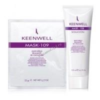 Keenwell Mask-109 mascarilla relajante de chocolate (Антистрессовая шоколадная маска), гель 125 мл. + порошок 25 гр. -