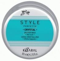 Kaaral Style Perfetto Crystal Water Wax (Воск для волос с блеском), 80 мл - купить, цена со скидкой