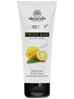 Alessandro Fruit bar sugar lemon hand cream (Ароматерапевтический увлажняющий крем для рук Сахарный лимон), 75 мл - купить, цена со скидкой