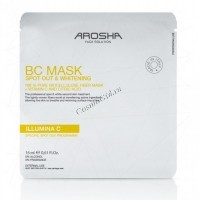 Arosha Illumina C Spot Corrector Whitening Mask (Выравнивающая тон кожи маска), 3 шт x 20 мл -