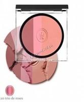 Sothys Illuminating Trio Face & Eyes (Румяна  трио), 20 розовые, 9 гр. - купить, цена со скидкой