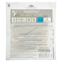 Benovy Перчатки медицинские хирургические одноразовые, размер 7,5 -