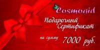 Подарочный сертификат на сумму 7000 руб - купить, цена со скидкой