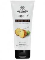 Alessandro Fruit bar sweet pineapple hand cream (Ароматерапевтический увлажняющий крем для рук Сладкий ананас), 75 мл - купить, цена со скидкой