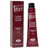 Lisap Man Colour (Крем-краска без аммиака для мужчин), 60 мл - купить, цена со скидкой