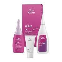 Wella Creatine Wave ( Набор для нормальных волос от тонких до трудноподдающихся), 3 средства - купить, цена со скидкой