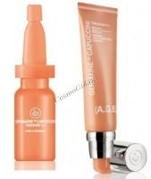 Germaine de Capuccini TimExpert C+ Prom Handbag emulsion+ serum (Набор Эмульсия 50 мл+ сыворотка 4х6мл+косметичка) - купить, цена со скидкой