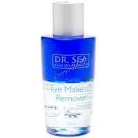 Dr. Sea Eye make-up remover (Деликатное средство для снятия макияжа с глаз с экстрактом огурца), 120 мл. -