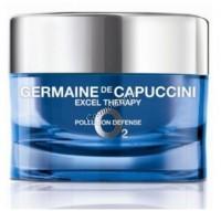 Germaine de Capuccini Excel Therapy O2 Pollution Defense Cream (Крем восстанавливающий для лица), 15 мл - купить, цена со скидкой