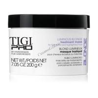 """Tigi Pro Luminous blonde treatment mask (Маска для осветленных волос """"Яркая блондинка""""), 200 мл. - купить, цена со скидкой"""
