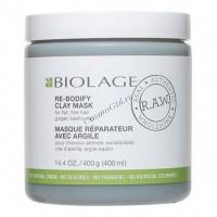 Matrix Biolage R.A.W. RE-BODIFY (Детокс-маска для объема), 400 мл - купить, цена со скидкой