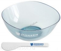 Janssen Mask bowl & spatula (Миска и шпатель для масок) - купить, цена со скидкой