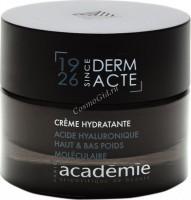 Academie Creme hydratante acide hyaluronique haut & bas poids moleculaire (Увлажняющий крем с гиалуроновой кислотой), 100 мл - купить, цена со скидкой