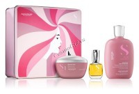 Alfaparf Semi Di Lino Holiday Kit Moisture (Подарочный набор для увлажнения сухих волос) - купить, цена со скидкой