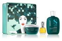 Alfaparf Semi Di Lino Holiday Kit Reconstruction (Подарочный набор для восстановления поврежденных волос) - купить, цена со скидкой