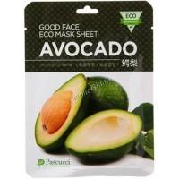Amicell Pascucci Good Face Eco Mask Sheet Avocado (Маска с экстрактом авокадо), 20 мл - купить, цена со скидкой