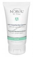 Norel Dr. Wilsz Ance Anti-imperfection cream with LHA and silver ions (Крем для жирной кожи с салициловой кислотой и ионами серебра) -