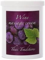 Thai Traditions Wine Massage Cream (Массажный крем Вино), 1000 мл - купить, цена со скидкой