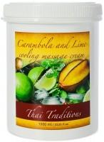 Thai Traditions Carambola and Lime Cooling Massage Cream (Массажный крем охлаждающий Карамбола и Лайм), 1000 мл - купить, цена со скидкой