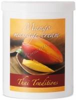 Thai Traditions Mango Massage Cream (Массажный крем Манго), 1000 мл - купить, цена со скидкой