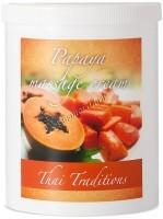 Thai Traditions Papaya Massage Cream (Массажный крем Папайя), 1000 мл - купить, цена со скидкой