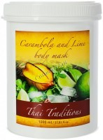 Thai Traditions Carambola and Lime Body Mask (Маска для тела Карамбола и Лайм), 1000 мл - купить, цена со скидкой