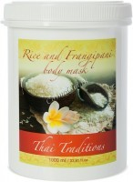 Thai Traditions Rice and Frangipani Body Mask (Маска для тела Рис и Франжипани), 1000 мл - купить, цена со скидкой