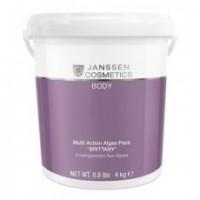 Janssen Multi action algae pack «Brittany» (Микронизированные водоросли «Бриттани» для ревитализирующих и антицеллюлитных обертываний), 4 кг - купить, цена со скидкой