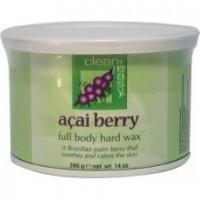 Clean+Easy Горячий воск с ягодой Акаи, 397 гр. -