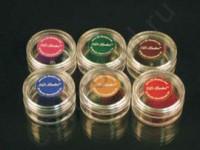 3D-Lashes Vip-J-curl  Color Набор ресниц цветных 6 цветов (темно-коричневый, светло-коричневый, красный, зеленый, фиолетовый, синий),  11мм, толщина 0,15мм, 1000шт каждого цвета. - купить, цена со скидкой