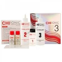 CHI Permanent Shine Waves №3 Strong (Шелковая биохимическая завивка №3 Сильная - для жестких и непослушных волос) -