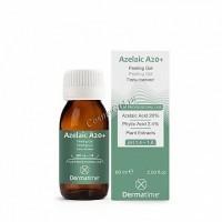 Dermatime Azelaic A20+ Peeling Gel (Гель-пилинг / рH 1.4–1.8), 60 мл - купить, цена со скидкой
