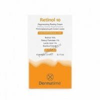 Dermatime Retinol 10 (Набор саше с ретинолом 10% для запечатывания химических пилингов),  6 саше по 3 мл - купить, цена со скидкой