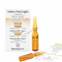 Dermatime Yellow Peel Light («Желтый» пилинг с инкапсулированным ретинолом 5%), набор на 1 процедуру - купить, цена со скидкой