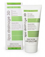 Ericson laboratoire Lipo drainage 3d cellulit detox (Интенсивный антицеллюлитный крем целлюлит - детокс) - купить, цена со скидкой