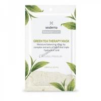 Sesderma Beauty Treats Green tea therapy mask (Маска увлажняющая для лица), 1 шт. -
