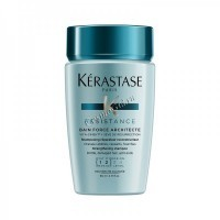 Kerastase Resistance Bain Force Architecte (Резистанс Форс Архитект Шампунь-Ванна для поврежденных волос: степень повреждения 1-2) - купить, цена со скидкой