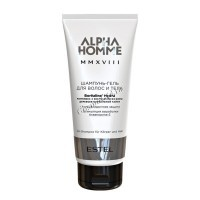 Estel Alpha Homme MMXVII (Шампунь-гель для волос и тела), 200 мл - купить, цена со скидкой