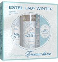 """Estel Professional Коллекция Lady winter """"Сияние волос"""", 3 препарата.   - купить, цена со скидкой"""