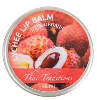 Thai Traditions Lychee Lip Balm (Бальзам для губ Личи), 15 мл - купить, цена со скидкой