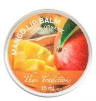 Thai Traditions Mango Lip Balm (Бальзам для губ Манго), 15 мл - купить, цена со скидкой