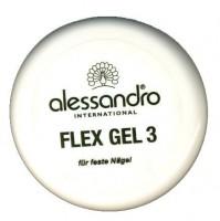 ALESSANDRO  Flex Gel Гель для наращивания ,моделирования нормальных  ногтей  3 15g - купить, цена со скидкой