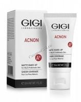 Gigi Acnon Matte makeup (Крем-тон матирующий), 30 мл - купить, цена со скидкой