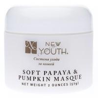 New Youth Masque soft papaya & pumpkin (Маска смягчающая с экстрактом папайи и тыквы), 57 мл - купить, цена со скидкой