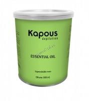 Kapous Жирорастворимый воск с эфирным маслом лицеи кубеба в банке, 800мл. - купить, цена со скидкой