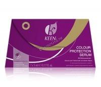 Keen Keratin Colour Protection Serum («Кератиновая сыворотка для питания окрашенных волос»), 7 шт по 10 мл - купить, цена со скидкой