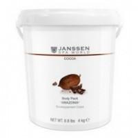 Janssen Body pack cocoa «Amazonia» (Пенящееся шоколадное обертывание «Амазония»), 4 кг - купить, цена со скидкой
