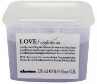Davines Essential Haircare New Love Lovely Smoothing conditioner (Кондиционер для разглаживания завитка) -
