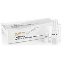 Label.m Lab remedy for dry and damaged hair (Сыворотка для сухих и поврежденных волос), 24 шт по 10 мл  - купить, цена со скидкой